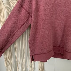 American Eagle Outfitters Sweaters - AEO inside out fuzzy crewneck